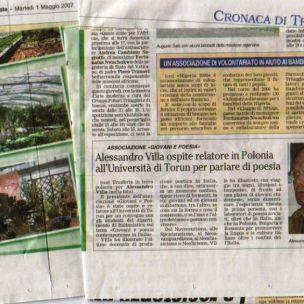 giornalecarate01.05.07